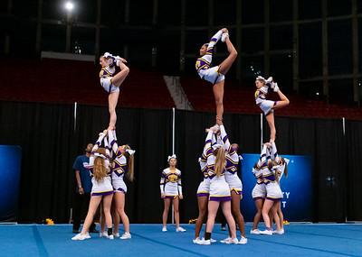 Broughton cheerleading Pre-States. November 16, 2019. D4S_1713