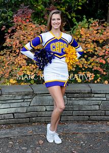 Broughton cheerleading seniors. November 8, 2019. MRC_5655