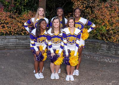 Broughton cheerleading seniors. November 8, 2019. MRC_5683