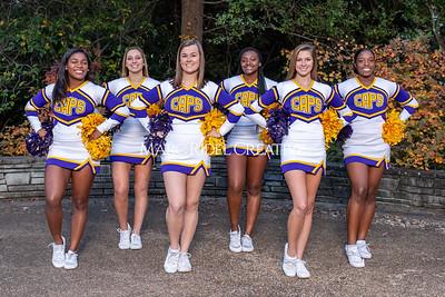 Broughton cheerleading seniors. November 8, 2019. MRC_5681