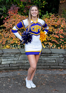 Broughton cheerleading seniors. November 8, 2019. MRC_5658