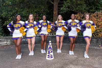 Broughton cheerleading seniors. November 8, 2019. MRC_5676