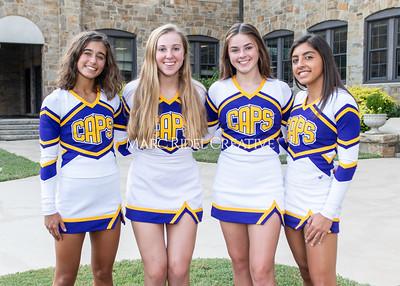 Broughton varsity cheerleading photoshoot. September 14, 2021.