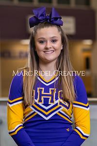 Broughton junior cheerleaders. January 22, 2021