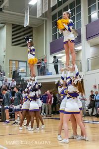 Broughton boys varsity basketball vs Millbrook. February 15, 2019. 750_7587