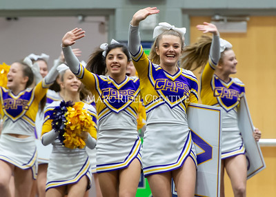 Broughton JV cheerleading. January 25, 2020. D4S_6178
