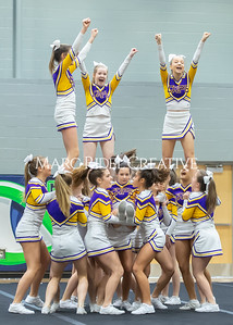Broughton JV cheerleading. January 25, 2020. D4S_6246