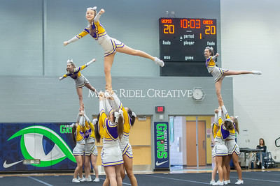 Broughton JV cheerleading. January 25, 2020. D4S_6228
