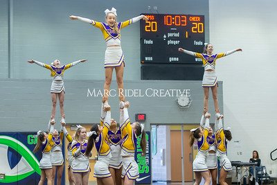 Broughton JV cheerleading. January 25, 2020. D4S_6222