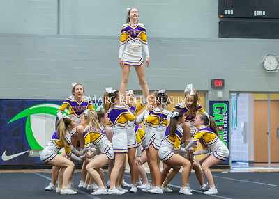 Broughton JV cheerleading. January 25, 2020. D4S_6247