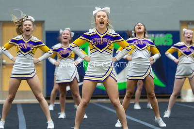 Broughton JV cheerleading. January 25, 2020. D4S_6211