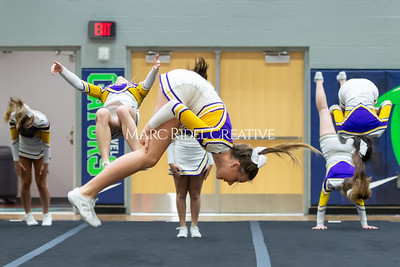 Broughton JV cheerleading. January 25, 2020. D4S_6200