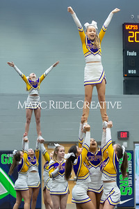 Broughton JV cheerleading. January 25, 2020. D4S_6221