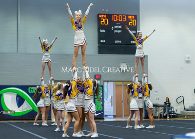 Broughton JV cheerleading. January 25, 2020. D4S_6220