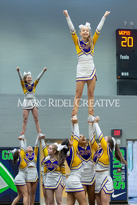 Broughton JV cheerleading. January 25, 2020. D4S_6218