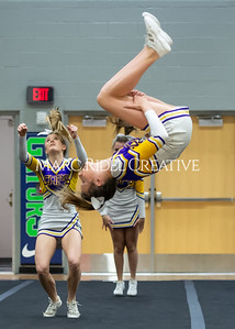 Broughton JV cheerleading. January 25, 2020. D4S_6198