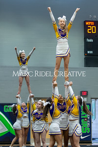 Broughton JV cheerleading. January 25, 2020. D4S_6219