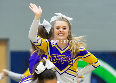 Broughton JV cheerleading. January 25, 2020. D4S_6189