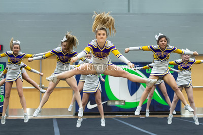 Broughton JV cheerleading. January 25, 2020. D4S_6207