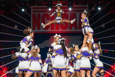 Broughton cheerleading at the NCHSAA Invitational. December 1, 2018, 750_1414
