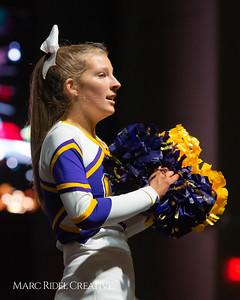 Broughton cheerleading at the NCHSAA Invitational. December 1, 2018, 750_1388