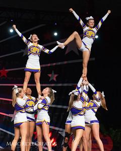 Broughton cheerleading at the NCHSAA Invitational. December 1, 2018, 750_1352