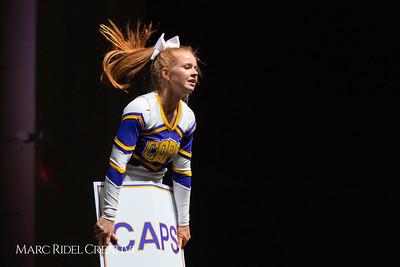 Broughton cheerleading at the NCHSAA Invitational. December 1, 2018, 750_1366