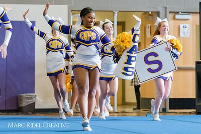 Wake County Cheerleading Competition. January 27, 2018.