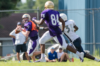 Broughton Football 7on7 vs. Lee County. August 8, 2018.