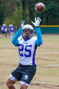 Broughton football practice. November 14, 2018.