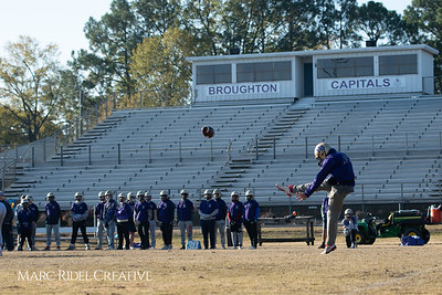 Broughton football practice. November 22, 2018, MRC_9301