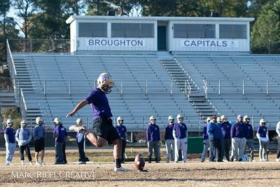 Broughton football practice. November 22, 2018, MRC_9160