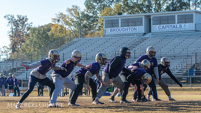 Broughton football practice. November 22, 2018, MRC_9245