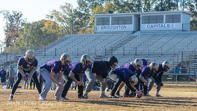 Broughton football practice. November 22, 2018, MRC_9239