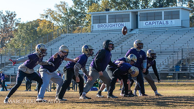 Broughton football practice. November 22, 2018, MRC_9247