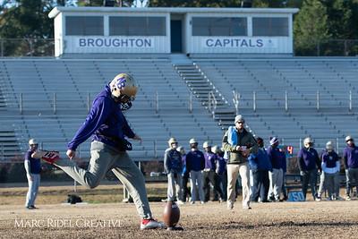 Broughton football practice. November 22, 2018, MRC_9155
