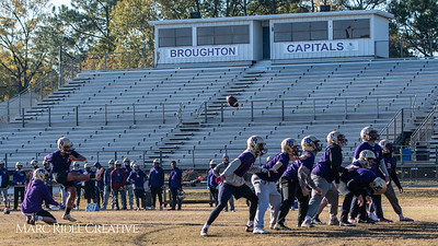 Broughton football practice. November 22, 2018, MRC_9347