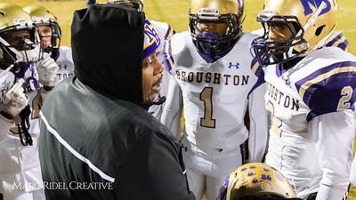Broughton football at Leesville. 4AA Playoffs round 2. November 23, 2018, MRC_9685
