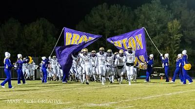 Broughton football at Leesville. 4AA Playoffs round 2. November 23, 2018, MRC_9823