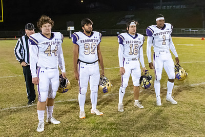 Broughton football at Leesville. 4AA Playoffs round 2. November 23, 2018, MRC_9802