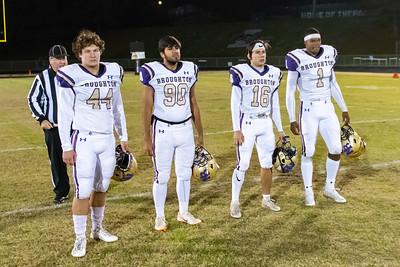 Broughton football at Leesville. 4AA Playoffs round 2. November 23, 2018, MRC_9802