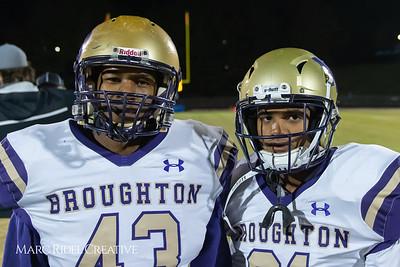 Broughton football at Leesville. 4AA Playoffs round 2. November 23, 2018, MRC_9705