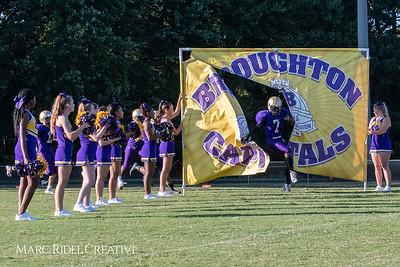 Broughton JV football vs. Athens Drive. August 23, 2018.