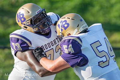 Broughton varsity football vs. Athens Drive. August 24, 2018.