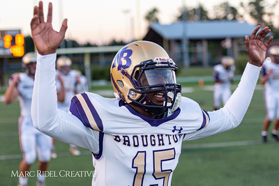 Broughton vs Cardinal Gibbons. October 19, 2018.