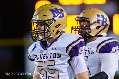 Broughton football vs Millbrook. November 2, 2018.