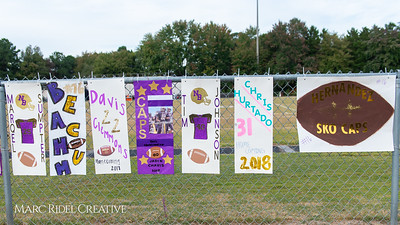 Broughton varsity football vs. Sanderson. Homecoming. October 25, 2018.