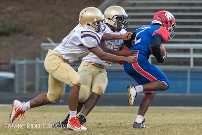 Broughton JV football vs. Sanderson. October 29, 2018.