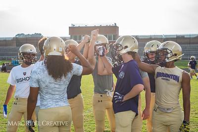 Broughton JV football vs Southeast Raleigh. September 27, 2018.