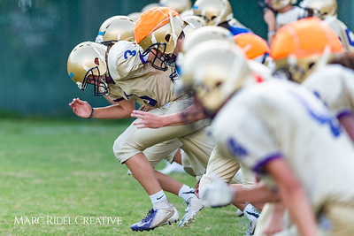 Broughton Football practice. August 10, 2018.